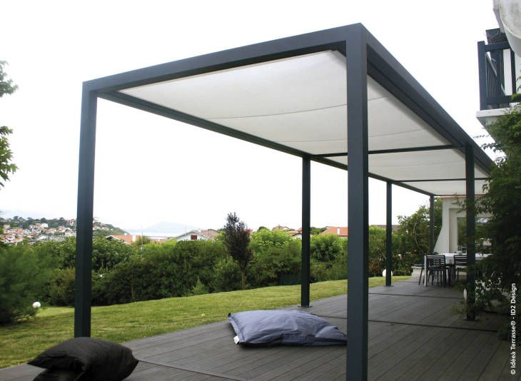 exterior awesome design ideas of metal pergola pergola metal piscina mameyal pinterest. Black Bedroom Furniture Sets. Home Design Ideas