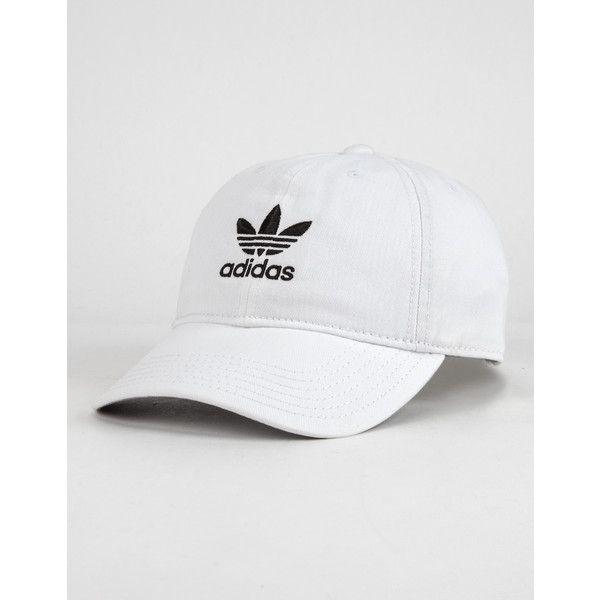 gorra adidas blanca y negra