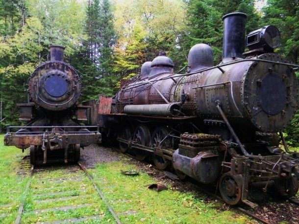 17 Best Images About Old Rusty Train's On Pinterest