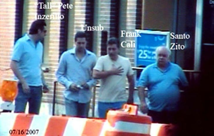 "Pietro ""Tall Pete"" Inzerillo a Gambino soldier with ties back to Italy and brother in law of Gambino power Frank Cali'."