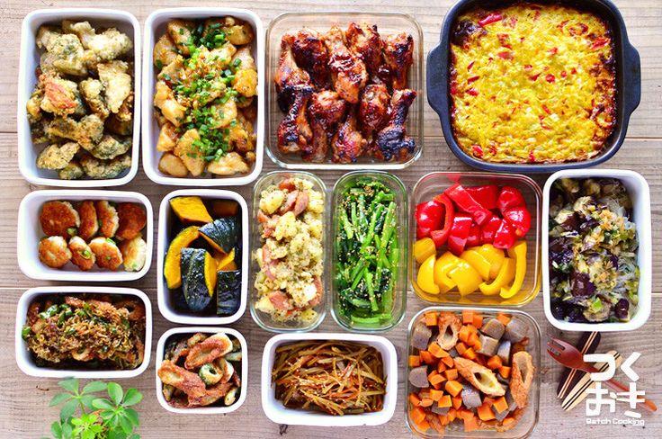 2015年8月第4週めの作り置き。調理時間150分で14品。使った食材から作ったおかず、1週間作り置きレシピを紹介します。作り置きをしない方も1週間の献立としてご利用下さい。