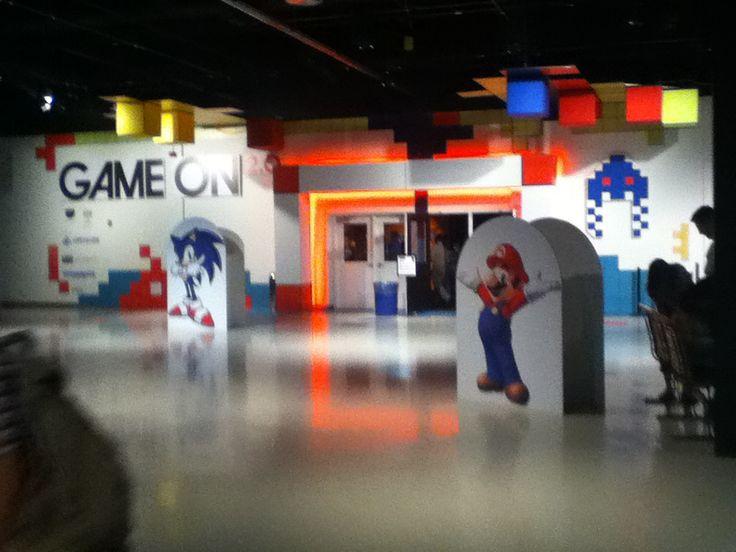 Game on Entrance