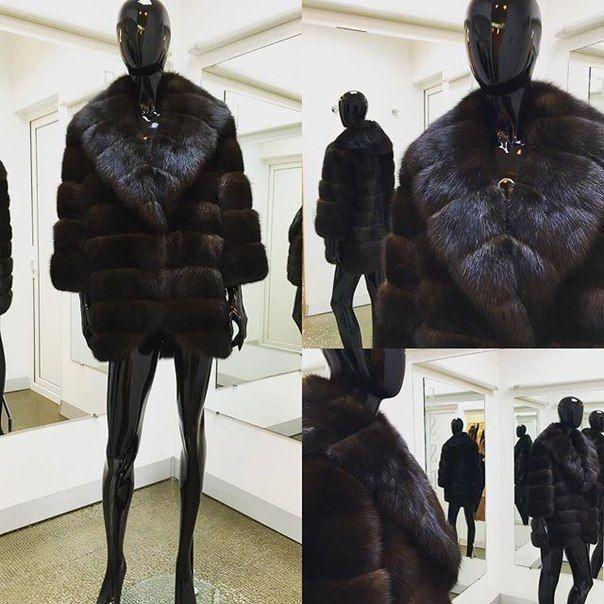 Шуба из соболя бургузинский кряж аукцион soiuzpushnina  #essedesignua #норка #норковаяшуба #норковыешубы #fashion