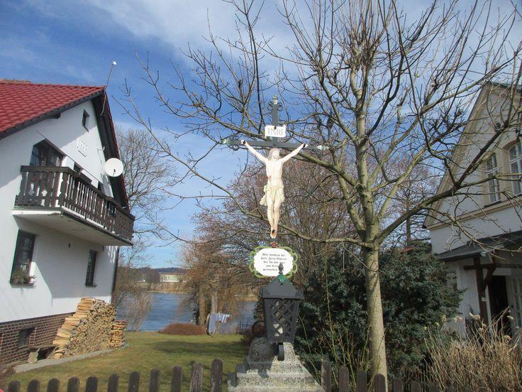 Kříž v Lipové - Ústecký kraj