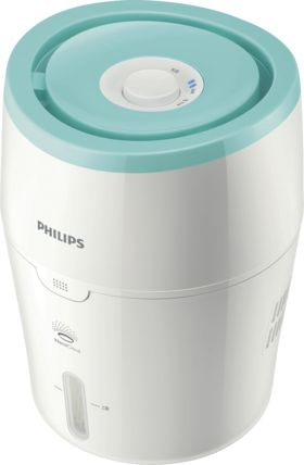 Mehr Wohlbefinden für Babys und Kinder durch optimale Luftfeuchtigkeit: Der Philips Luftbefeuchter mit NanoCloud-Technologie sorgt für eine natürliche...