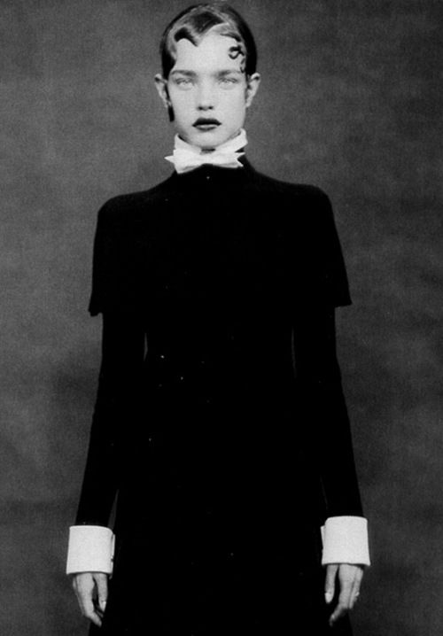 Natalia Vodianova by Paolo Roversi for Vogue Italia (September 2012)