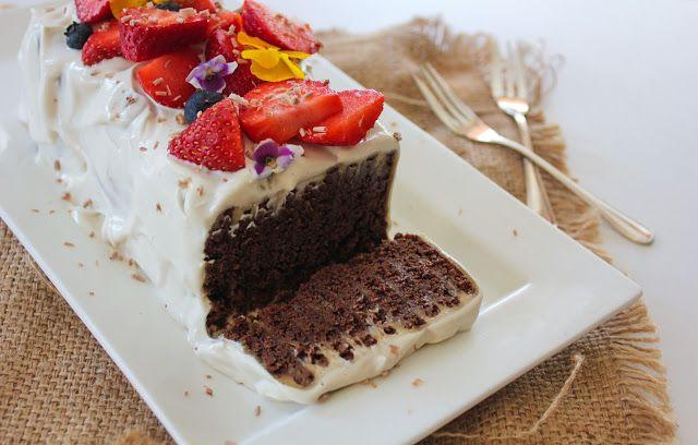 Vegan Chocolate Ripple Cake: Cake Hack