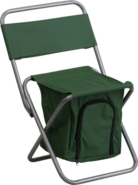 Kids Folding Camping Chair With Insulated Storage In Green. This Folding  Chair Is The Perfect Amazing Ideas