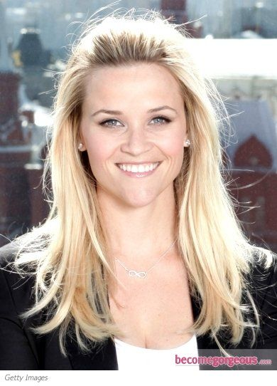 Pictures : Reese Witherspoon Hairstyles - Reese Witherspoon Pinned Back Bangs