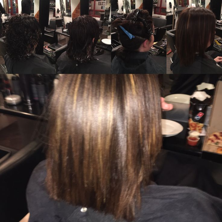 Keratin smoothing treatment with Goldwell keratin smooth intense treatment amazing results