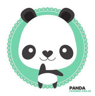 ::: panda ::: by Luli Bunny, via Flickr