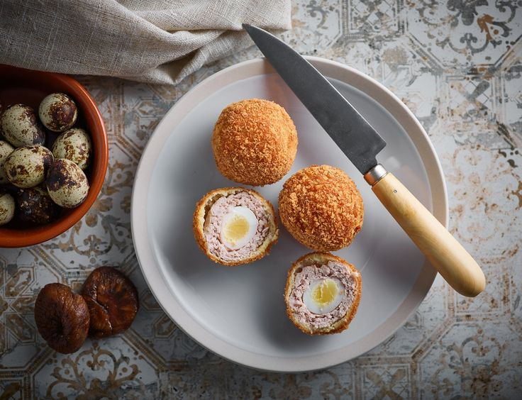 Scotch eggs or meatball eggs as lily likes to call them. Made with Japanese quail eggs and pork mince make fantastic lunch box fillers.