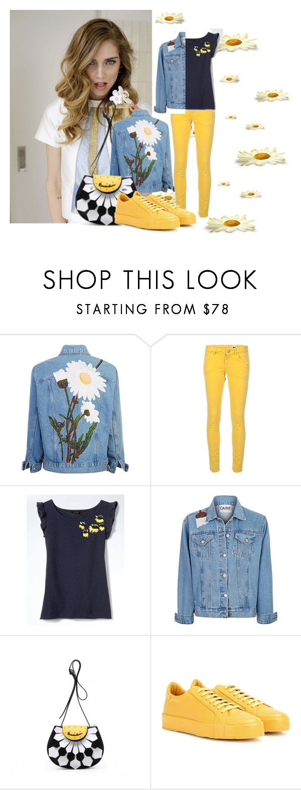 """Spring Daisy"" by m-illumino-di-glamour ❤ liked on Polyvore featuring Marc Jacobs, M Missoni, Banana Republic and Jil Sander"