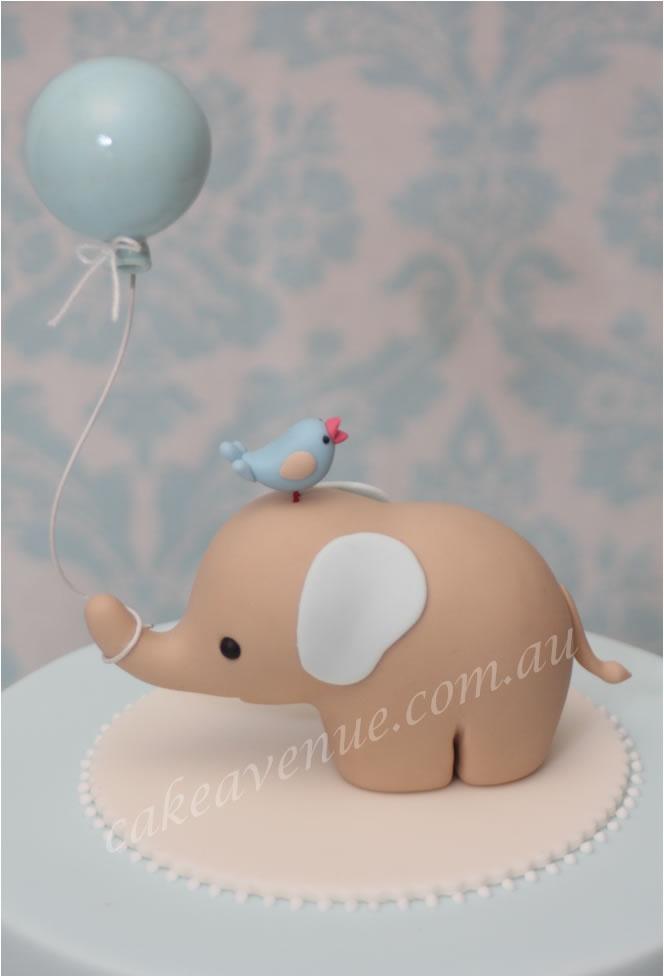 Baby Elephant Figurine...the very first, original 3D ...