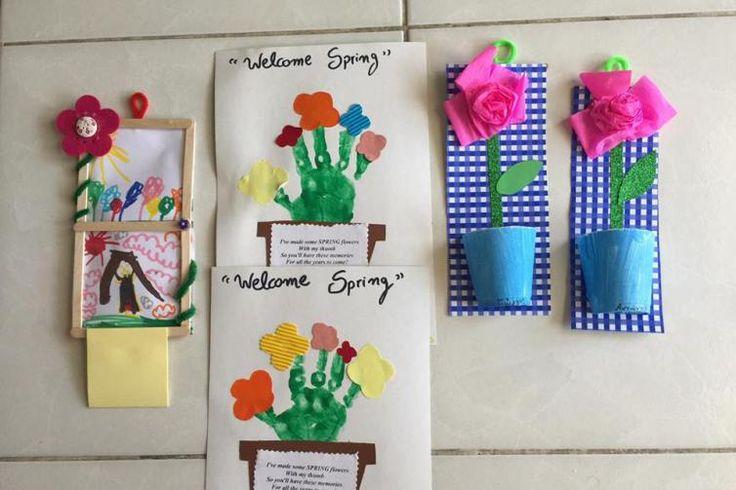 Εύκολες και πανέμορφες ανοιξιάτικες χειροτεχνίες!! – runmommyrun
