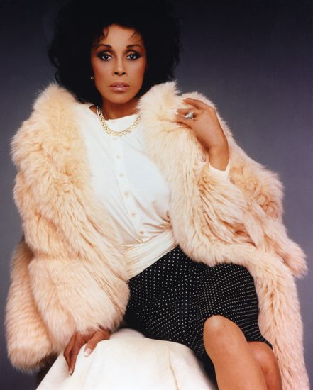 """Diahann Carroll   """"She was the first black woman to win a Tony for best actress, and the first black woman to star in her own TV show — while not playing a maid. As the title character in that sitcom,Julia, Carroll became the model for one of the first black Barbie dolls."""" - Michele Norris on Diahann Carroll"""