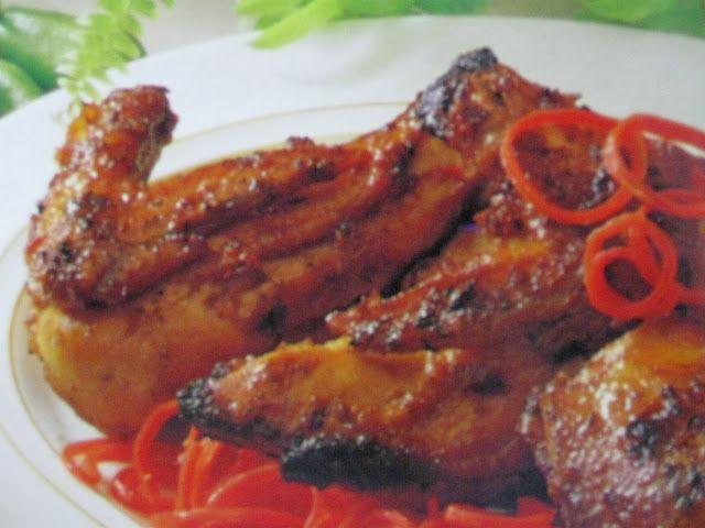 Resep Aneka Ayam: Resep Ayam Bakar Kalasan Bumbu Kecap