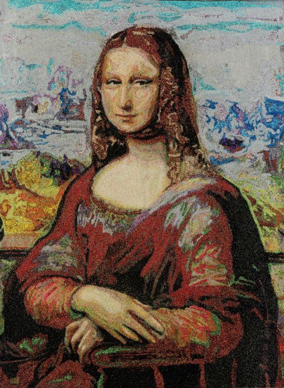 1000 Mona Lisas