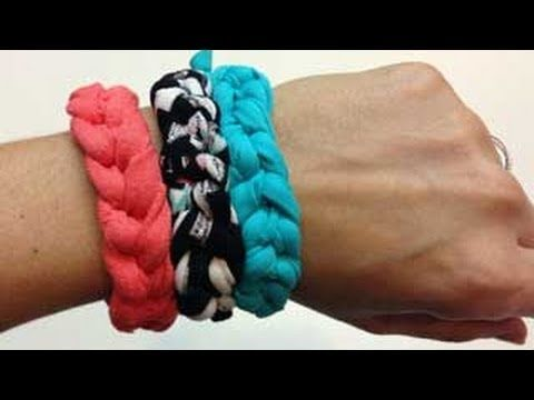 Tutorial #4: Pulseras de trapillo - YouTube