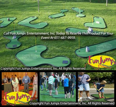 Deluxe Mini Golf Minnesota Games Rental Twin Cities Carnivals Party Event Rentals Carnival