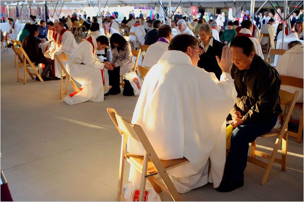 Attendees to the Abbey Faith & Music Fest 2014 will have the opportunity to take advantage of the grace available in the Sacrament of Penance, also know as Confession. There are many misconceptions about what the sacrament ...