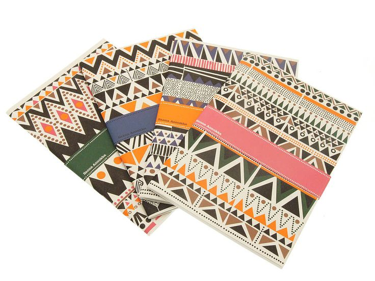 set of four sanna annukka notebooks. I WANT THESE
