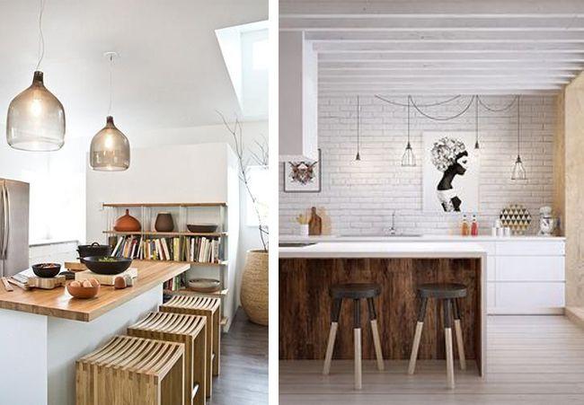 17 best images about kitchen on pinterest open shelving for Islas de cocina con barra