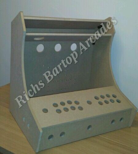 New widescreen bartop arcade machine mame 2 player diy ...