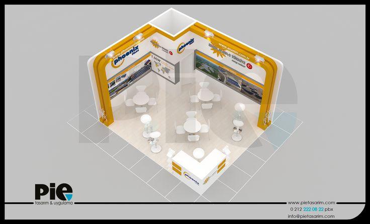 Solarex Fuar ''ASUNIM-PHOENIX'' Stand Tasarımımız