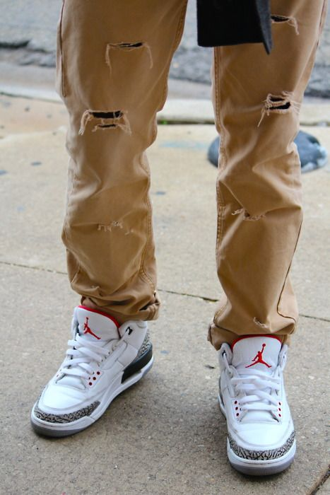Jordan retro 3 & Lovin the pants