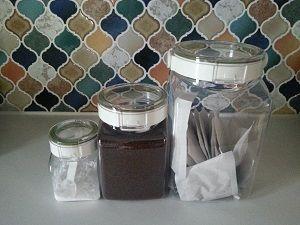 フレッシュロックにコーヒー豆|花咲く日記
