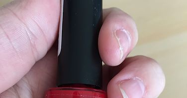 Review Etos nagellak rood oude verpakking