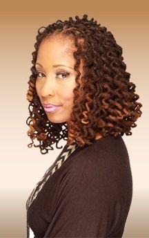 curly loc bob black women natural