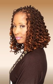 Curly loc Bob | Black Women Natural Hairstyles @beautycoliseum