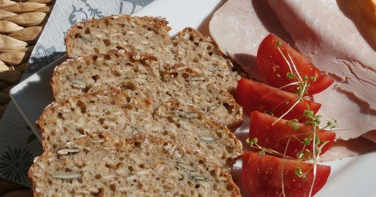 Dobrou chuť: Celozrnný žitný chléb