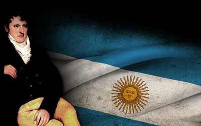 Manuel Belgrano, creador de la bandera argentina