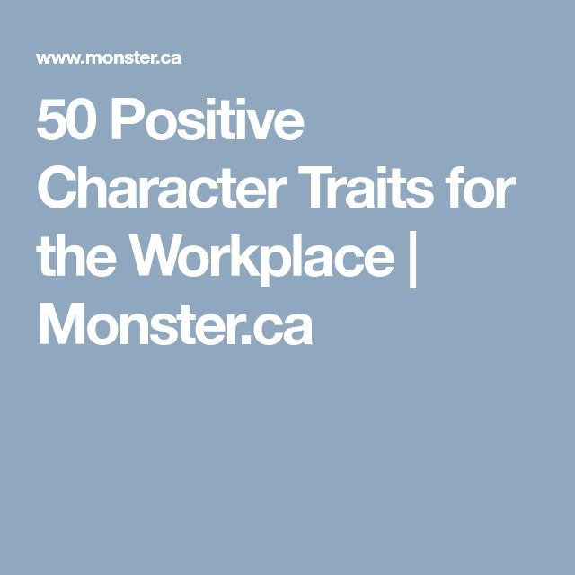 The 25+ best Positive character traits ideas on Pinterest - positive character traits