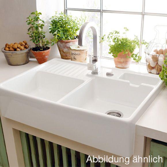 Die besten 25+ Butler Spülstein Ideen auf Pinterest Belfast sink - villeroy und boch waschbecken küche