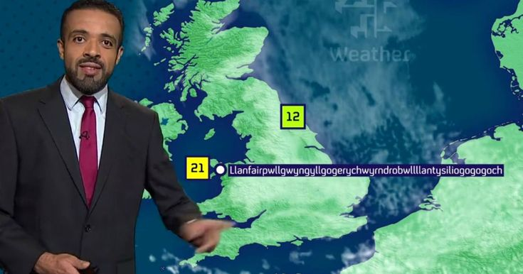 He nailed Europe's longest place name live on TV - and now weatherman Liam Dutton has a new favourite sounding Welsh word - Wales Online