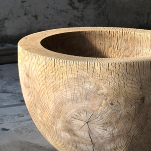 Piet Boon wooden bowl - Art Curator & Art Adviser. I am targeting the most exceptional art! Catalog @ http://www.BusaccaGallery.com