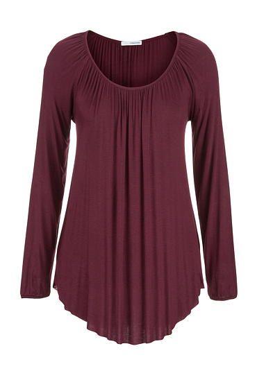 lightweight draped tunic - maurices.com