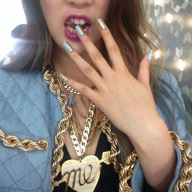 오마이갓 ㅋㅋ 귀여워! @ireneisgood  #unistellanails #유니스텔라  #ногти #гвоздь #Мода #стиль #мило #красота #красиво #instagood #красивая #девушка #девушки #стильный #блестки #стили #блестящие #nailswag