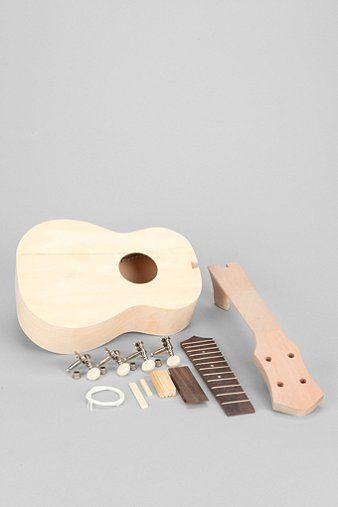 diy build your own ukulele kit diy pinterest ukulele build your own and diy and crafts. Black Bedroom Furniture Sets. Home Design Ideas