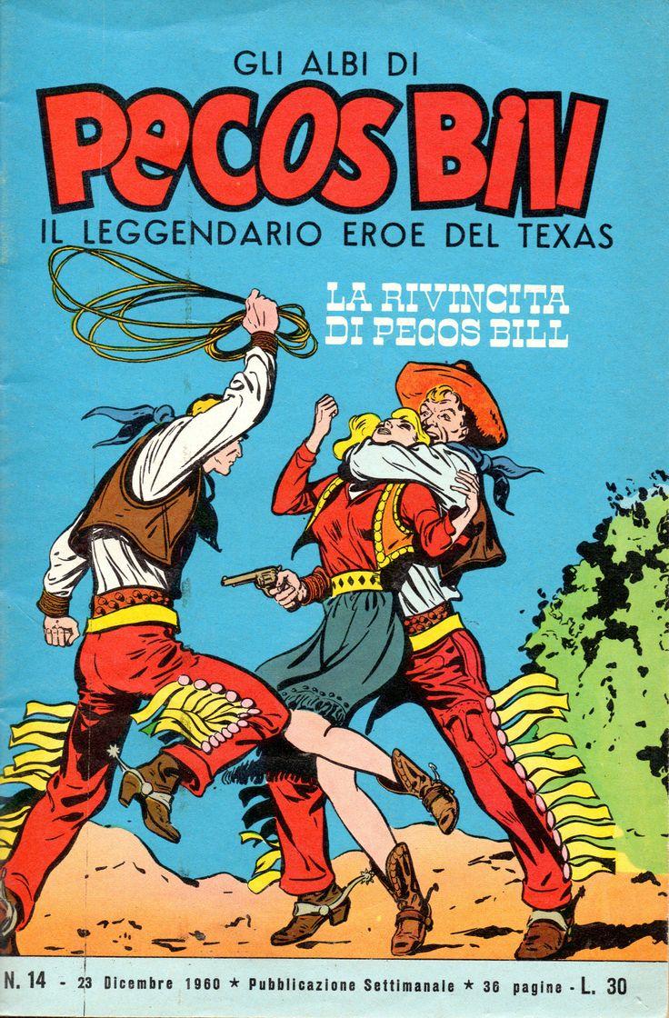 LA RIVINCITA DI PECOS BILL - Albi di Pecos Bill n.° 14 - 23 dicembre 1960