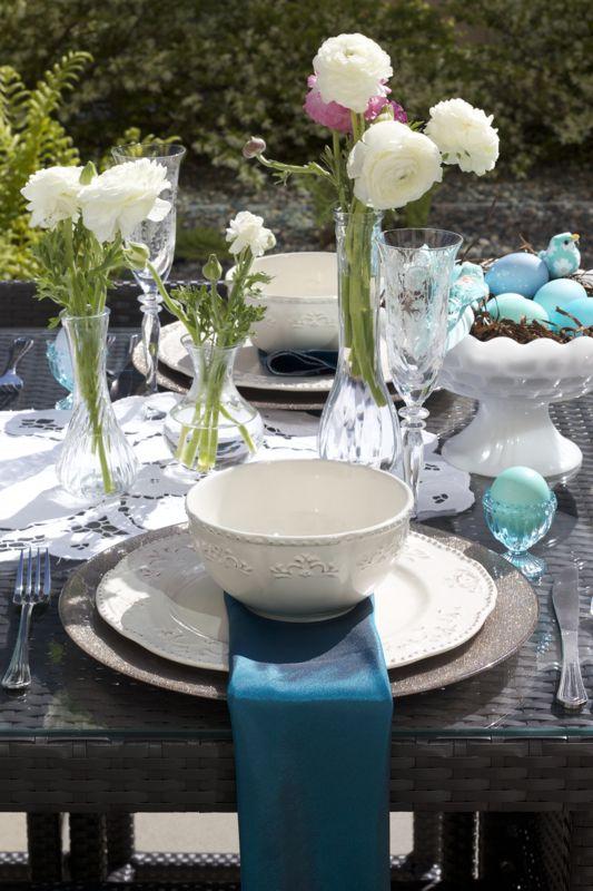 spring table settings easter brunch table setting