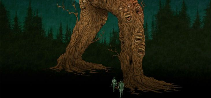 "Great poster for Bobcat Bigfoot movie, ""WILLOW CREEK"" by Alex Pardee"