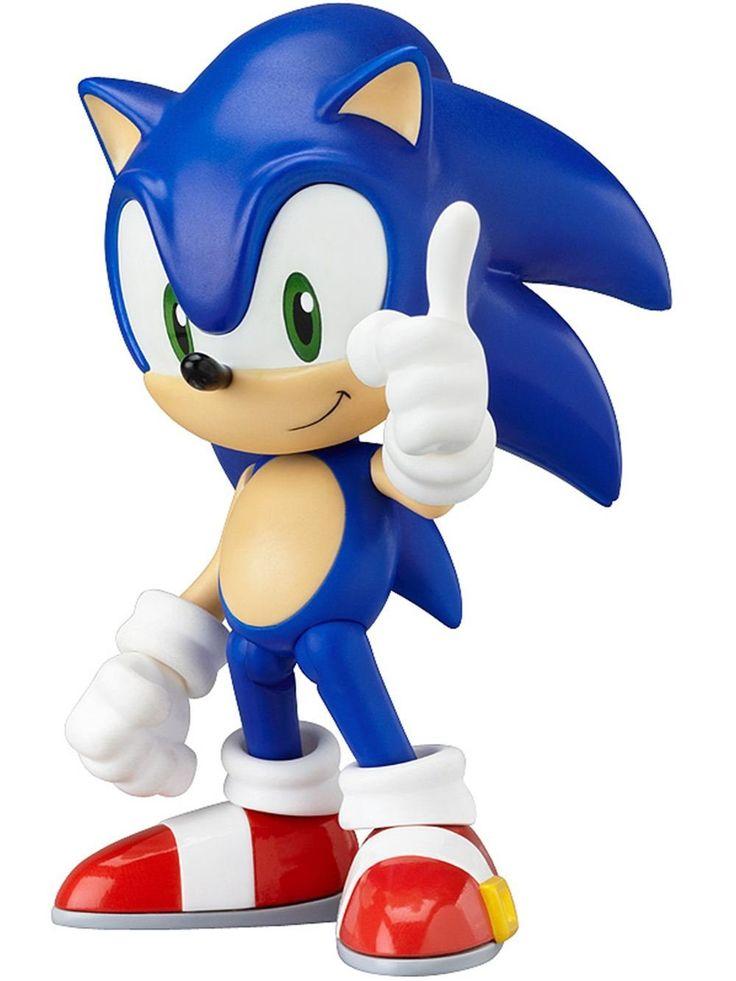 Amazon.com: Good Smile Sonic The Hedgehog Nendoroid Action Figure: Toys & Games