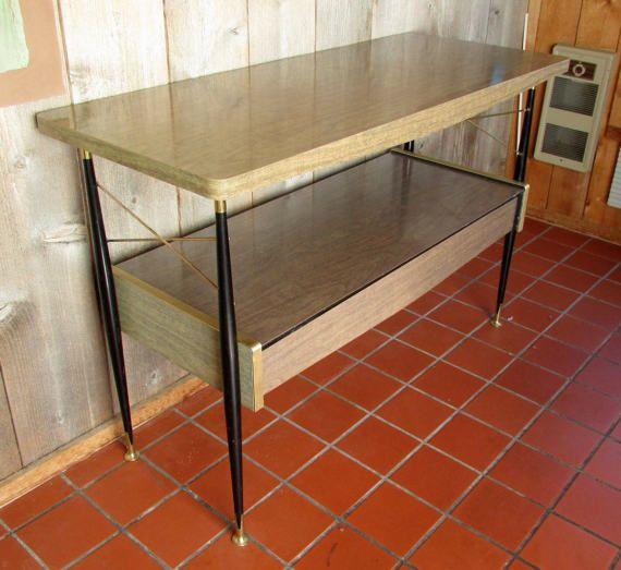 mesa de cocina de fórmica, años 50-60 - Comprar
