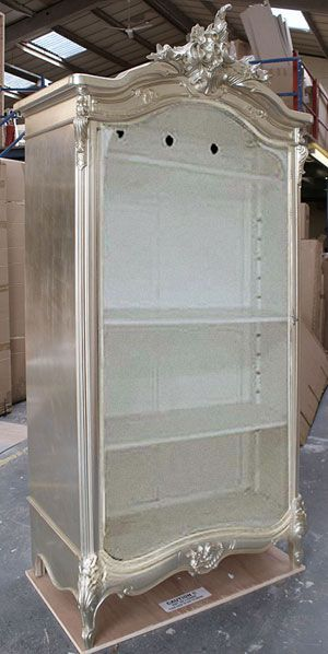 Chateau Silver French Open Armoire