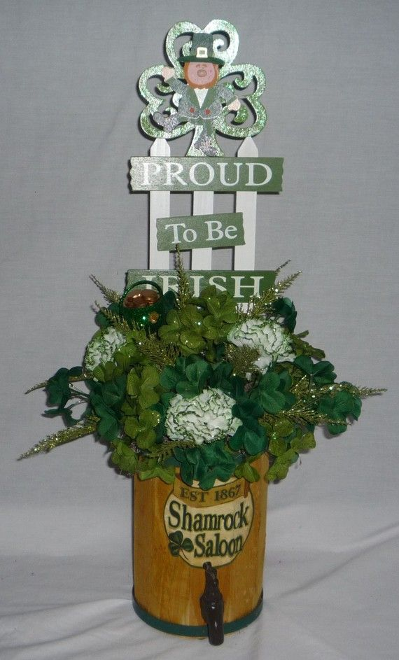 84 Best Images About St Patrick S Day Centerpieces On Pinterest Irish Centerpieces And